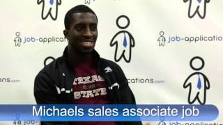 Download Michaels Interview - Sales Associate Video