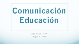Download Educomunicación Video