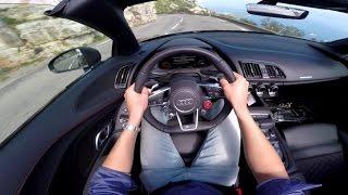 Download POV Drive: Audi R8 V10 Spyder Video