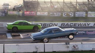 Download Old vs New Muscle Cars Drag Racing - Hellcat,Demon,Shelby,ZL1,Dodge Charger Video