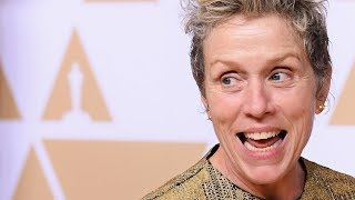 Download Frances McDormand explains Inclusion Rider at Oscars - Full Backstage Speech Video