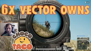 Download chocoTaco Owns with 6x Vector - PUBG Game Recap Video