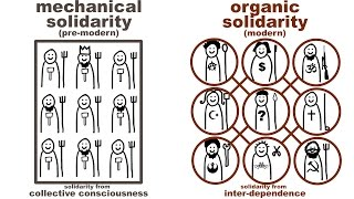 Download Durkheim's Mechanical and Organic Solidarity: what holds society together? Video