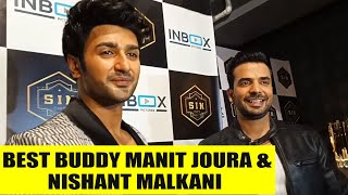 Download Best buddy Manit Joura and Nishant Malkani enjoying in a party Video