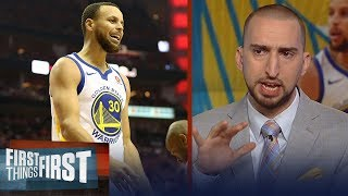 Download Nick Wright on how a struggling Curry impacts the Golden State Warriors | NBA | FIRST THINGS FIRST Video