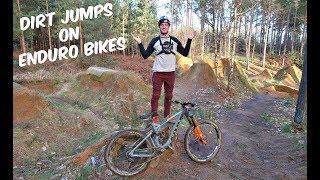 Download DIRT JUMPS ON ENDURO BIKES!! Video