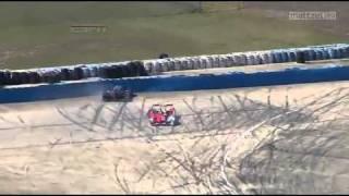 Download 2011 ALMS Sebring 12 Hours Race Audi Peugeot Collision. Video