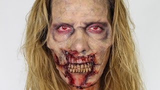 Download 'Fear The Walking Dead' Inspired Zombie MakeUp Tutorial | SFX | Shonagh Scott | AD Video