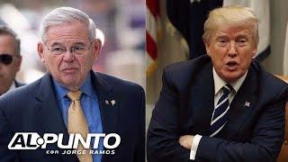 Download Menéndez: No permitiremos que comentarios ″repugnantes″ de Trump paren los ″esfuerzos de DACA″ Video