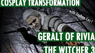Download Cosplay Transformation - Geralt of Rivia - by Zephon Cos, and Azure Cosplay Video