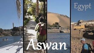Download EGYPT: Aswan - Nile - Kitchener's Island - Nubian village Video