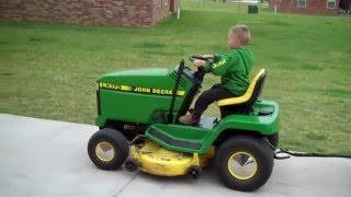 Download A little Dude who loves anything John Deere Video