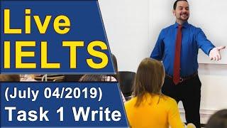 Download IELTS Live - Task 1 Writing - Diagram Video