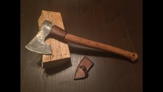 Download Modifying and making the perfect axe for my hiking trips. Video