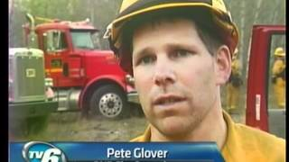 Download Crews battle wildfire in Ely Township Video