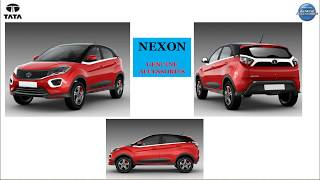 Download TATA NEXON OFFICIAL GENUINE ACCESSORIES! MUST GRAB FOR YOUR NEXON Video