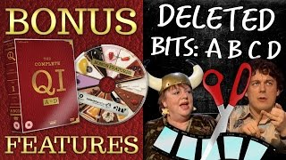 Download DELETED BITS: SERIES ABCD | QI DVD Bonus Features Video