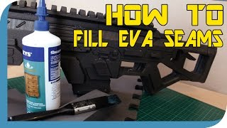 Download HOW TO: Fill EVA Foam Seams On Props Video