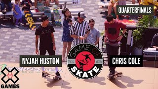 Download Nyjah Huston vs. Chris Cole Game of Skate Quarterfinals - World of X Games Video