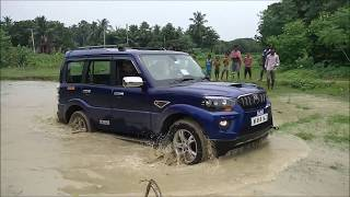 Download Scorpio Vs Bolero Vs Thar in deep slush Video