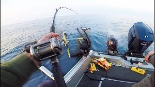 Download Fighting Fish Out of 150ft of Water - (INTENSE FISHING) Video
