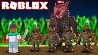 Download ME VS THE LEVEL 100 ″WEREWOLF BOSS″ IN ROBLOX SLAYING SIMULATOR Video
