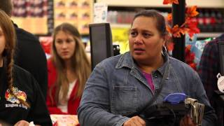 Download Paying for People's Groceries Video