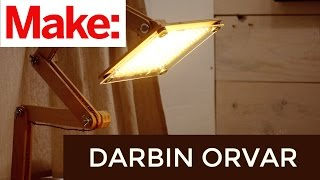 Download Darbin Orvar: Building an Articulating LED Task Lamp Video