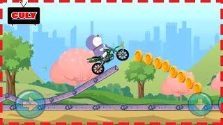 Download Trò chơi Doremon lái xe Moto thử thách vượt chướng ngại vật chạy lụm vàng cu lỳ chơi game lồng tiếng Video