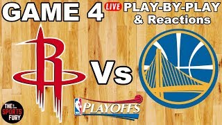 Download Rockets vs Warriors Game 4 | Live Play-By-Play & Reactions Video