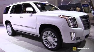 Download 2017 Cadillac Escalade Platinum - Exterior and Interior Walkaround - 2016 LA Auto Show Video