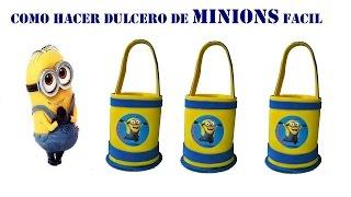 Download COMO HACER DULCERO DE MINIONS FACIL Video