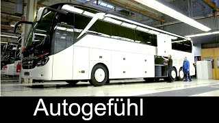 Download How Daimler/Mercedes busses are built: Setra EvoBus production plant assembly Ulm - Autogefühl Video