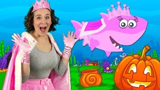 Download Halloween Baby Shark | Kids Songs and Nursery Rhymes | Halloween Songs from Bounce Patrol Video