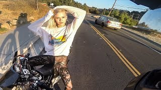 Download SUPERMOTO PICKS UP GIRLS 2!! Video