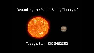Download Debunking the Planet Eating Theory of Tabby's Star (KIC8462852) Video