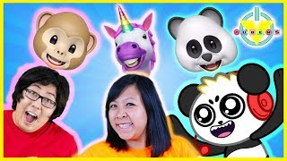 Download Let's Play with 3D iPhone Aniomoji ! VTubers Play with Dinosaur Unicorn and MORE! Video