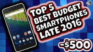 Download Top 5 Best Budget Smartphones Late 2016! Video
