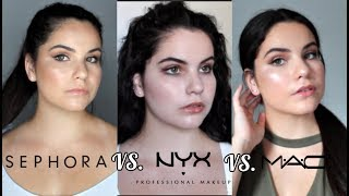 Download Getting My Makeup Done at 3 Different Stores! Sephora VS MAC VS NYX Video