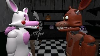 Foxy x Mangle Episode 1 ″An Unexpected Meeting″ (FNAF Story