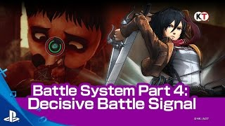 Download Attack on Titan - Decisive Battle Signal Trailer | PS4 Video