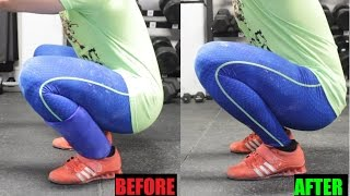 Download SQUAT STRONGER: Increase Ankle Dorsiflexion (MOBILITY) Video