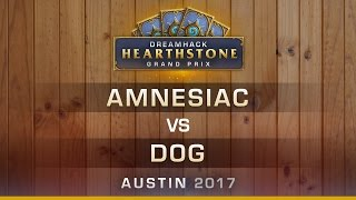 Download HS - Amnesiac vs Dog - RO16 - Hearthstone Grand Prix DreamHack Austin 2017 Video