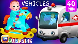 Download Surprise Eggs Street Vehicles For Kids | Baby, Public Transport, Utility Vehicles & more | ChuChu TV Video