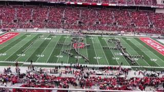 Download Olympic Spirit Halftime Show 11/26/2016 OSU vs. Michigan Ohio State Marching Band Video