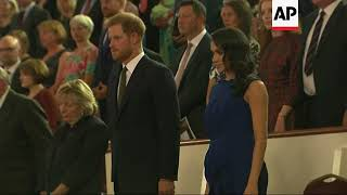 Download Harry and Meghan attend London gala Video