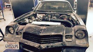 Download Cheap V-8 Turbo Build! LS-Turbo #Bonemaro! - Hot Rod Garage Ep. 38 Video