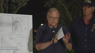 Download NTSB Chairman Robert Sumwalt briefs media on the Miami, FL bridge collapse investigation Video