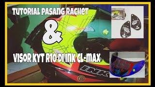 Download Tutorial pasang rachet & visor kyt R10 di INK CL-MAX.. auto ganteng Video