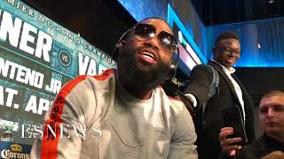 Download MUST WATCH Adrien Broner right after presser goes off on ceo of Mayweather promotion Video